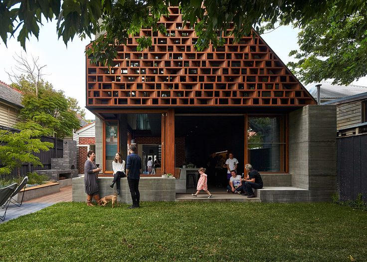 Built by MAKE architecture in Saint Kilda, Australia with date 2014. Images by Peter Bennetts. Inspiration for this project comes from thinking about how this family live and enjoy life. Spaces are playful; conce...
