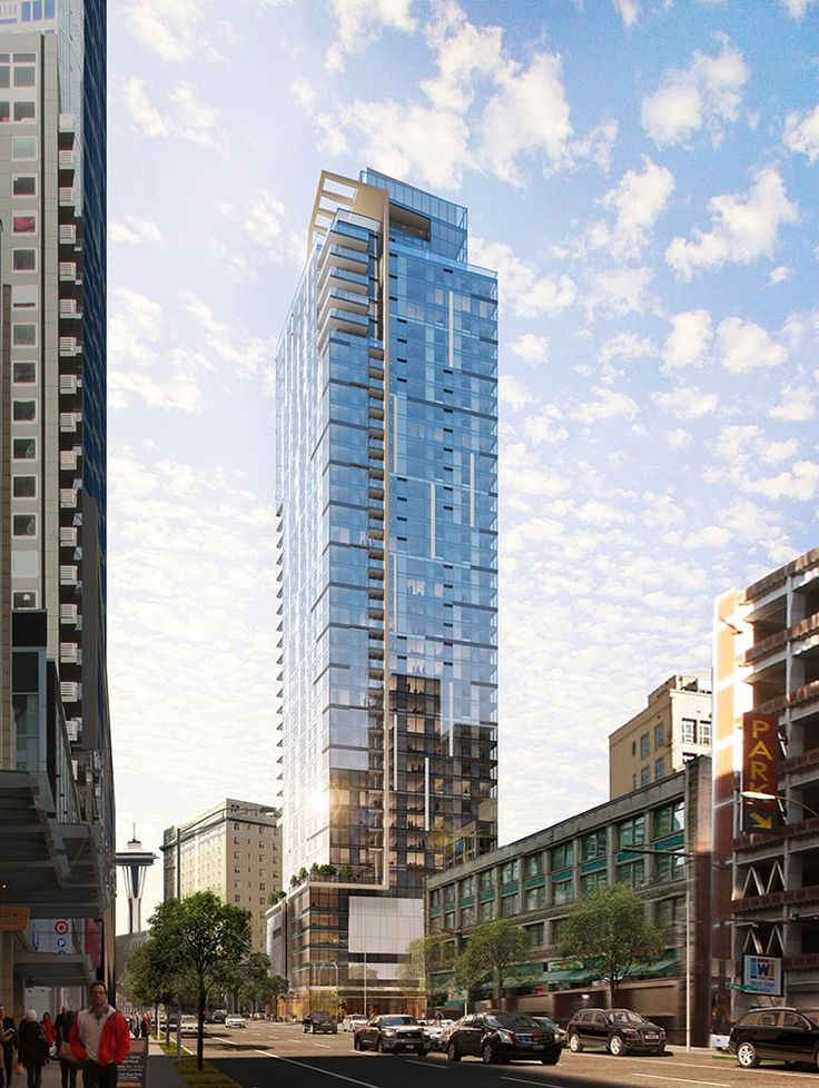 17 best New Seattle high rises images on Pinterest | Seattle ...