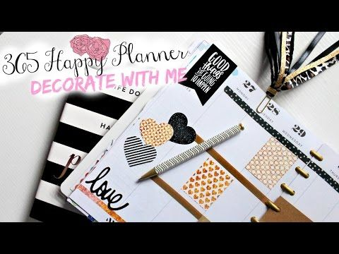 365 Happy Planner: Plan With Me | Belinda Selene - YouTube