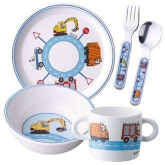 Kinder Melamin-Geschirr-Set JAKO-O, 5-teilig online bestellen - JAKO-O