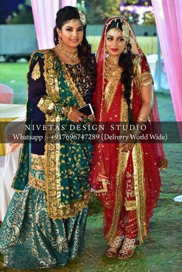 Gharara and Khada Dupatta