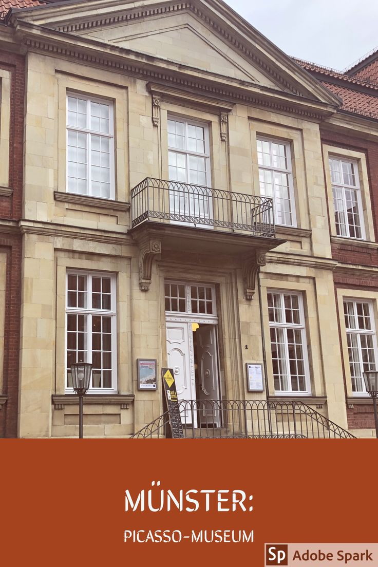 Kunstfreunde kommen in #Münster im #Picasso-Museum auf ihre Kosten. Hier gibt es wechselnde Ausstellungen verschiedener Künstler.