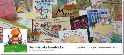 lista med tips på feministiska barnböcker.