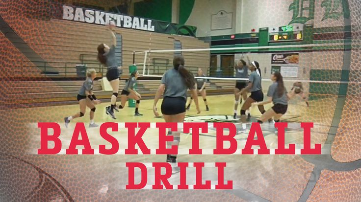 For volleyball practice: Don't let 6-on-6 play get stale. Try this fun basketball-themed drill variation!