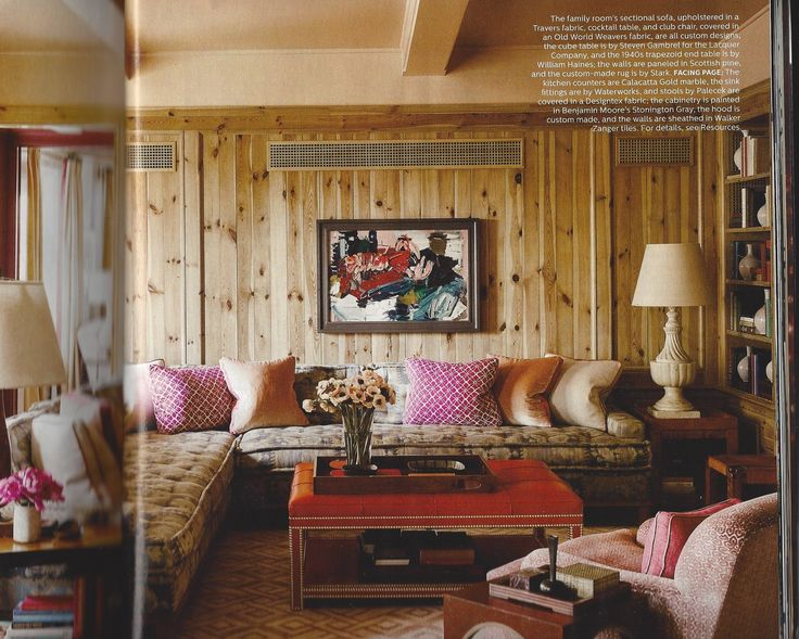 Elle Decor NOV 2015 Designer:  Steven Gambrel