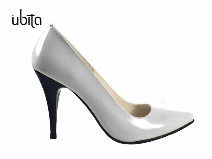 Pantofi Stiletto din piele naturala Ubita.ro
