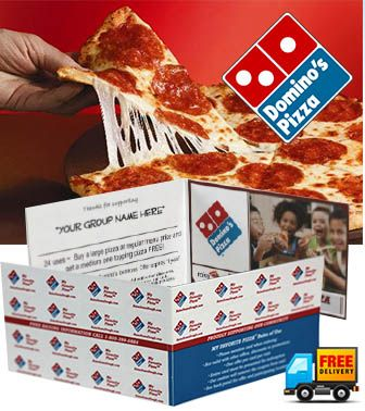 The ABC Fundraising® Domino's Pizza Card Fundraiser - Earn Up To 80% Profit! http://www.AbcFundraising.com