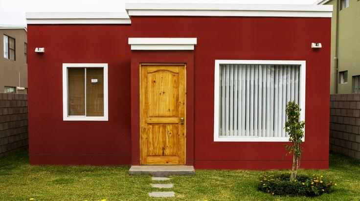 Fachada - Galilea Constuctora - Proyectos Monte Verde - Casas en Piura