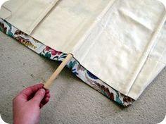 Roman blind tutorial
