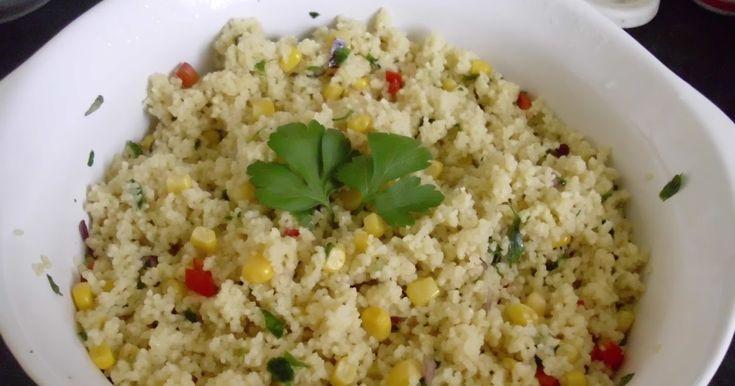 Hozzávalók:  25 dkg kuszkusz  5 dl zöldségleves alaplé (lehet kockából is)  1/2 kalifornia paprika  1 kis csomag petrezselyemzöld  1 kis ...