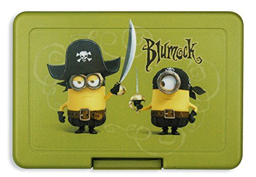 Despicable Me 2 Minions Lunch Box Blumock @ niftywarehouse.com #NiftyWarehouse #Geek #Gifts #Collectibles #Entertainment #Merch