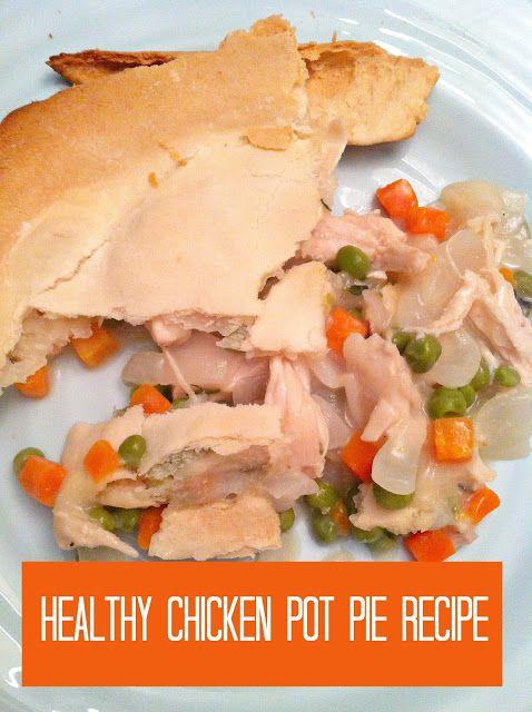Ten June: Healthy {Dairy Free} Chicken Pot Pie Recipe