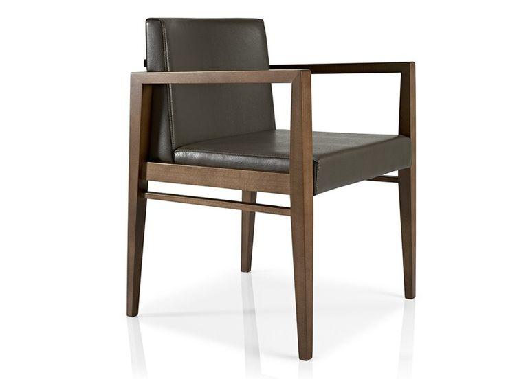 SERENA | Sedia con braccioli By JMS design Francisco Cardoso