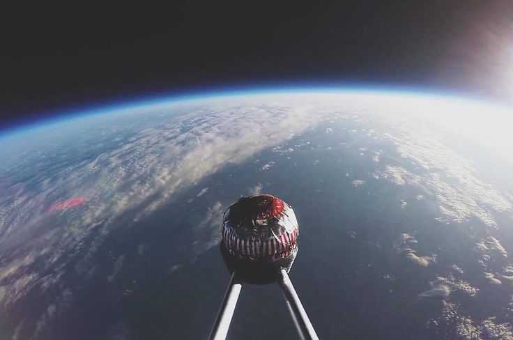 Yes, you can send a Scottish teacake into space    Glasgow Science Centre sent the chocolate, biscuit and Italian meringue snack into space on a weather balloon, where it reached a peak of 37,007m. The GSC want to spark imagination in science and technology with the experiment.