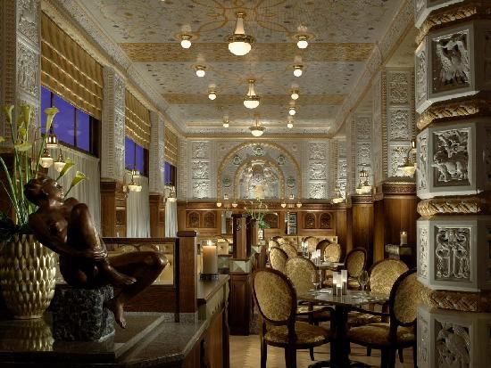 Café Imperial - Prague, Czech Republic: Inside the Art Deco Imperial Hotel in Prague, is the Imperial Coffee, the most famous among many others that this city has