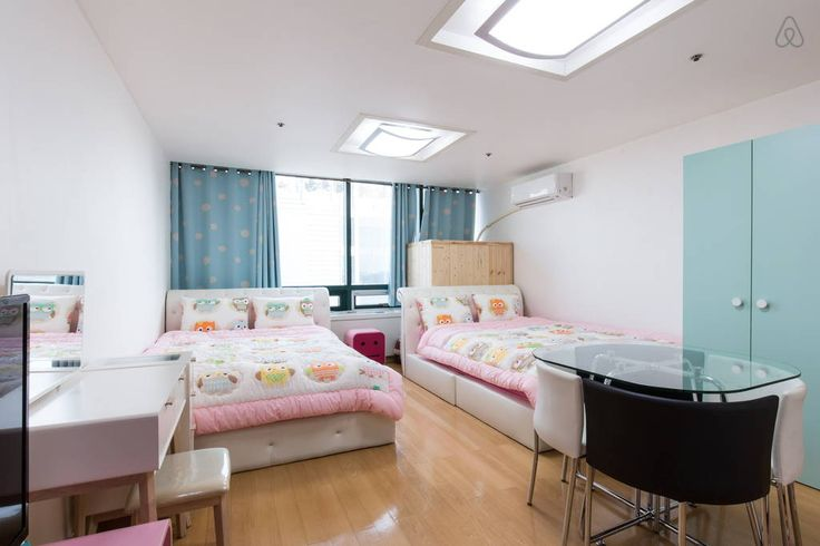 Check out this awesome listing on Airbnb: [1min@Hongdae stn]Two queen beds-P - Apartments for Rent in Mapo-gu