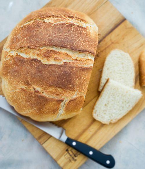 Mock Sourdough Bread ~ Heat Oven to 350