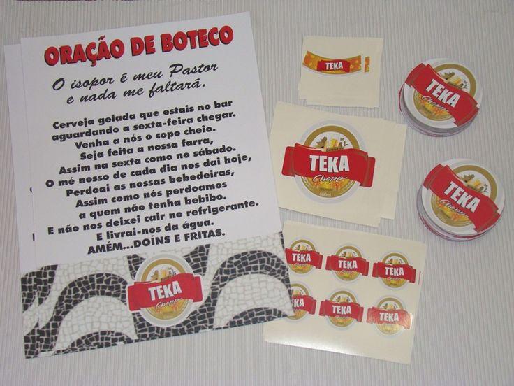 decoracao festa boteco personalizada:Ideias Festa De Boteco