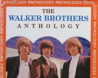 """WALKER BROS. ~ """"Anthology"""" commercial stock 15-track CD compilation of original…"""