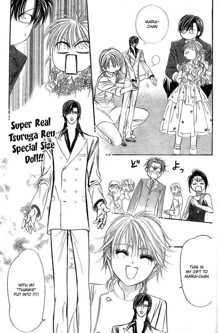 Read manga Skip Beat 131 Christmas Special online in high quality