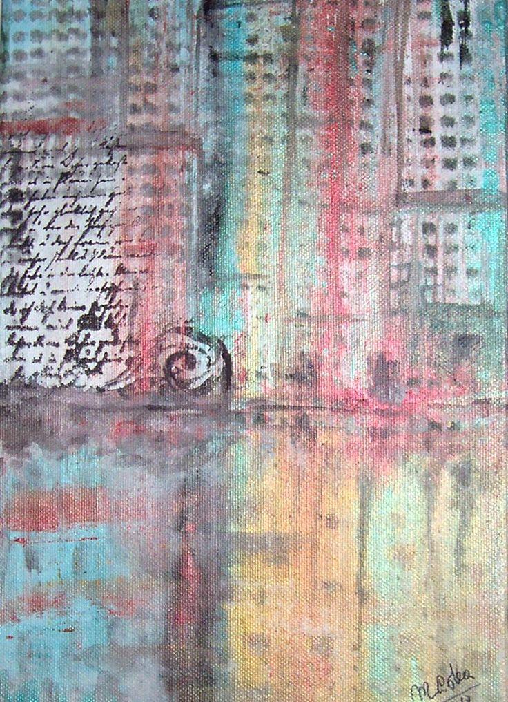 acrilico su tela 20x30 by M.Cristina De Amicis