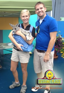 Some of employees got a chance to meet with Jack Hanna!: Jack O'Connell, Jack Hanna