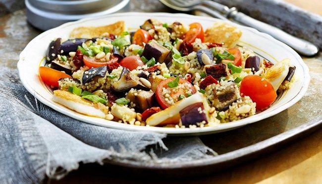 Grillijuusto-munakoisosalaatti - K-ruoka