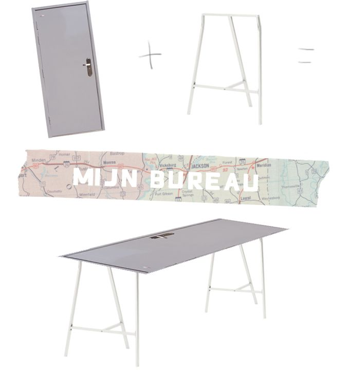 DIY desk | Credit  www.thesecretistodream.com