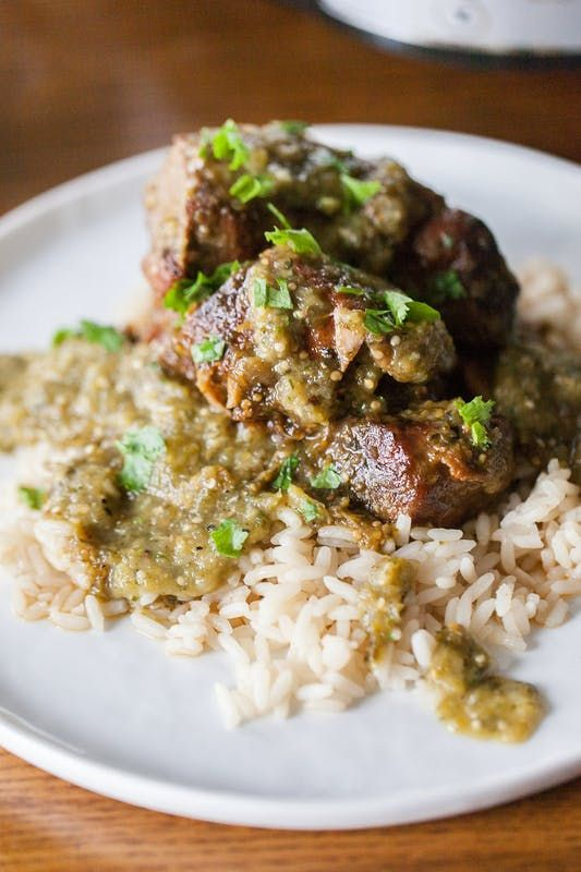 How To Make Really Good Chile Verde in the Slow Cooker | Kitchn