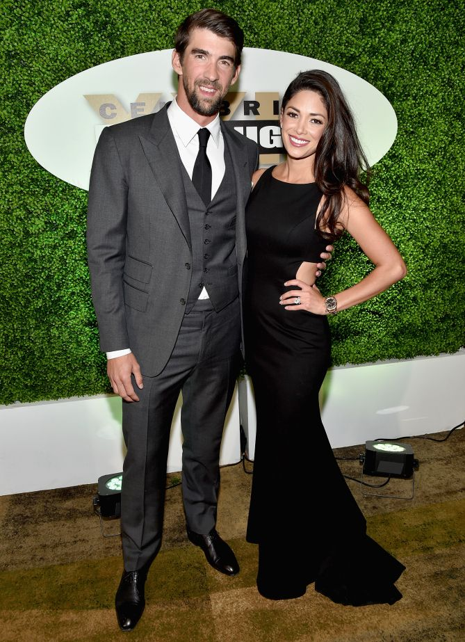 Michael Phelps and wife Nicole Johnson come out for Muhammad Ali's Celebrity Fight Night Saturday in Phoenix. Star Tracks: Tuesday, March 21, 2017
