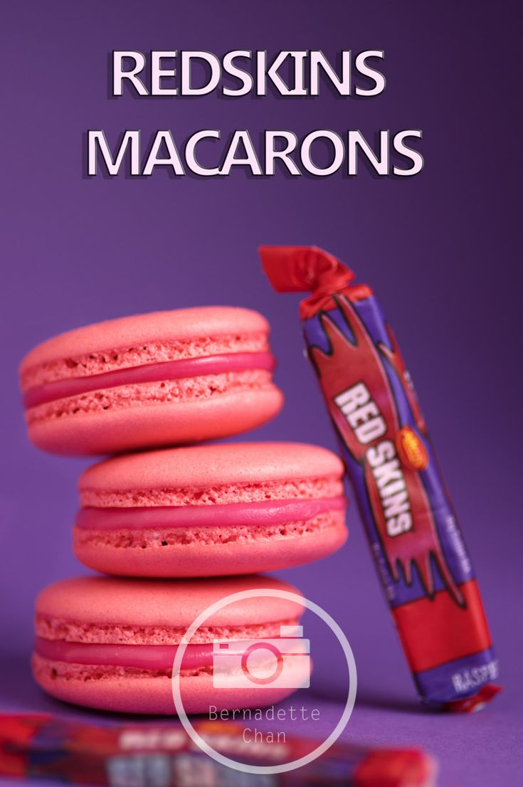 redskin macarons