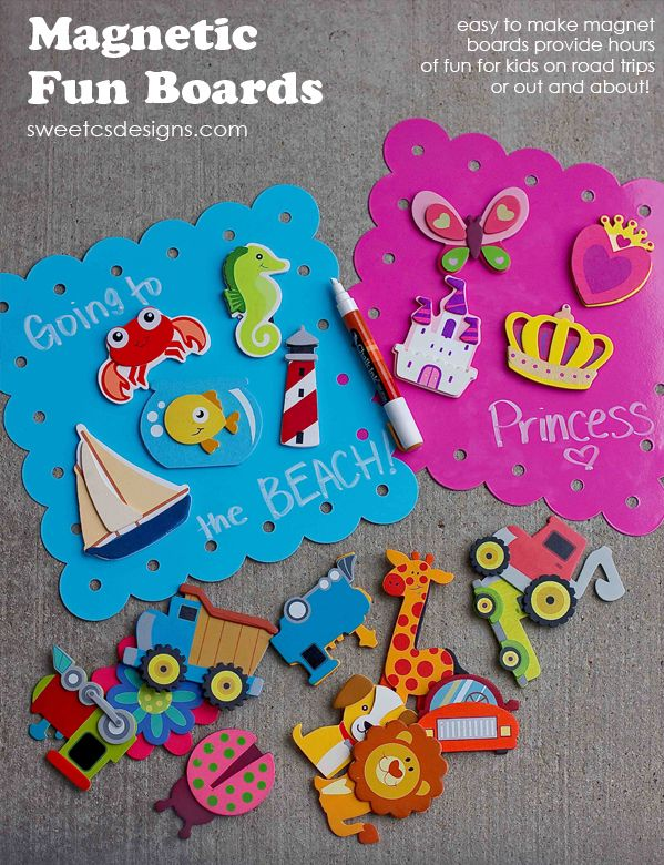 Magnetic Fun Boards