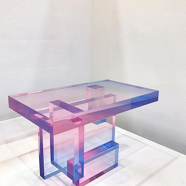 #Repost @saero__me  new crystal series #saeromyoon #design #table