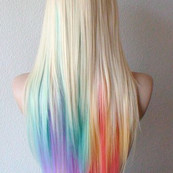 Rainbow Tips, love it.Will get this done probably one day