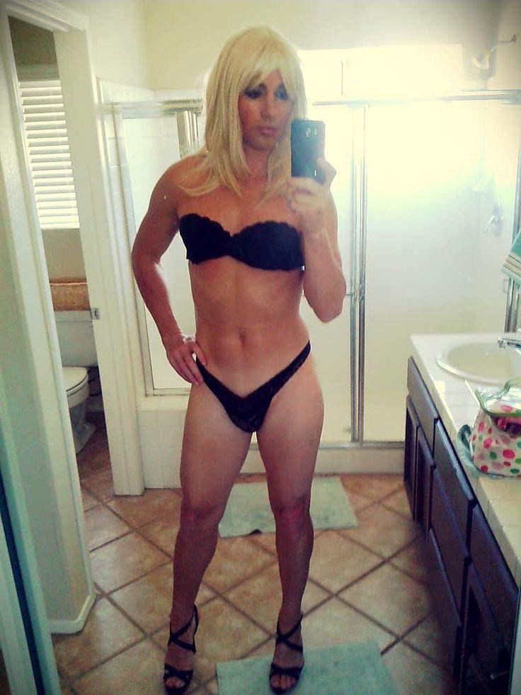 Selfie crossdresser nude
