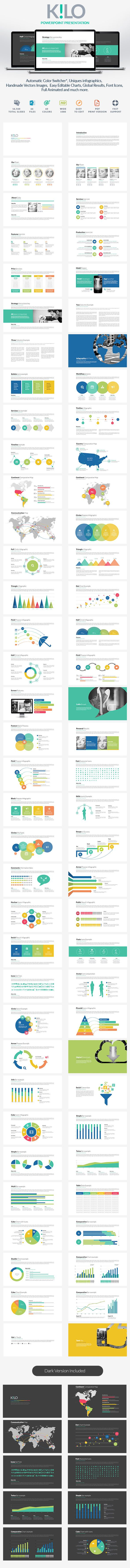Running windows vista and microsoft office including powerpoint - Kilo Powerpoint Template