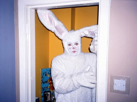Creepy Easter Bunnies: Rabbit Costume, Easter Bunnies, Bunnies Meme, Bunnies Rabbit, Meme Centers, Happy Easter, Bunnies Things, Creepy Easter, David Shrigley