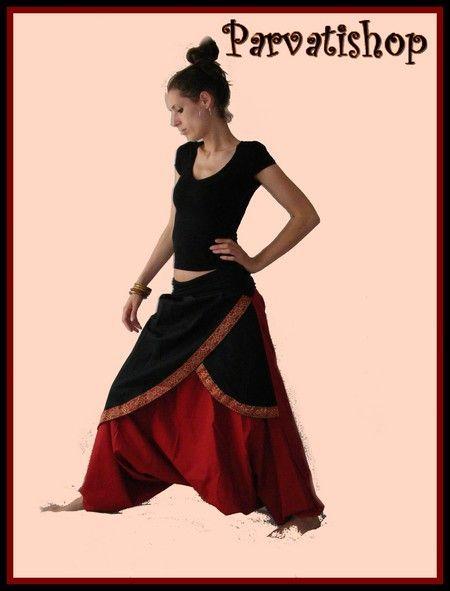 Tuto du Vrai sarouel Indien/Parvatishop création sarouel - Parvatishop créations