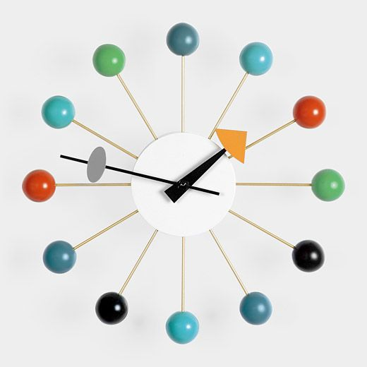 1000 images about clocks by george nelson on pinterest for Nelson wall clock
