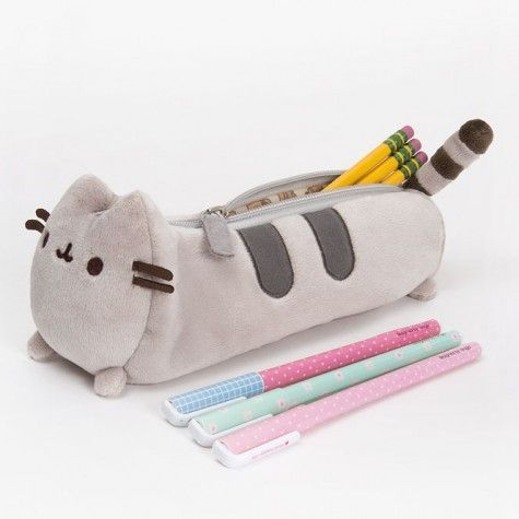 Fluffy Animal Pencil Cases - Pusheen pencil case at Hey Chickadee: