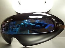ALIEN SPACE ROBOT PARTY RAVE CYCLOPS FUTURISTIC Black SUN GLASSES Mirror Lens