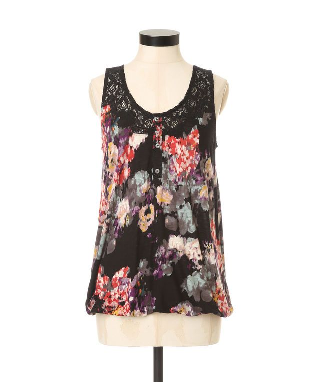 kimberly fall floral, BLACK FLORAL
