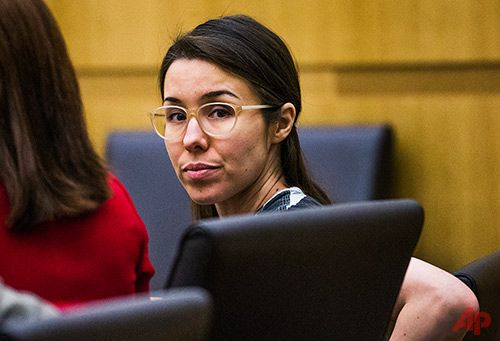 Jan. 9, 2015, PHOENIX (AP) — A judge ordered convicted murderer Jodi Arias on Monday to pay about $30,000 in restitution to her slain lover's family to cover their travel expenses to attend the lengthy trial. Arias was convicted last year in the murder of her boyfriend, Travis Alexander.