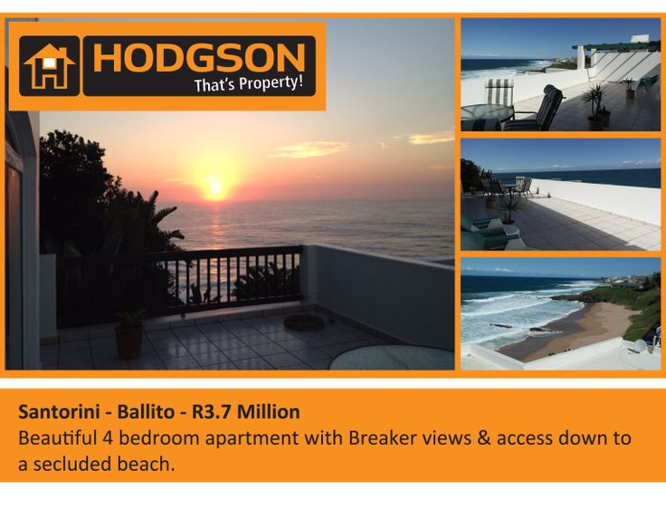 R3,7mil Beautiful 4 bedroom apartment with Breaker views. Access down to secluded beach.