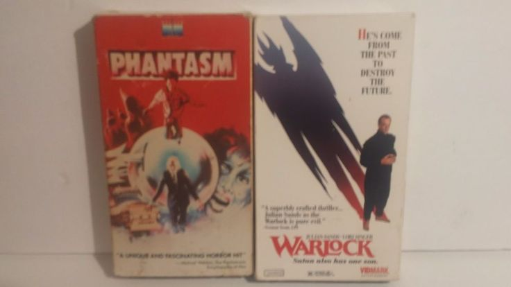 Phantasm & Warlock, Vintage Horror VHS Lot