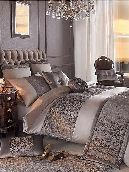 Kyle Minogue bed linen set. #houseoffraser