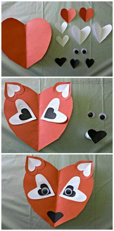 valentine's day paper crafts - Google Search