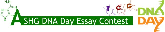The contest aims to challenge students to examine, question, and reflect on the important concepts of genetics. Essays are expected to contain substantive, well-reasoned arguments indicative of a depth of understanding of the concepts related to the essay questions.