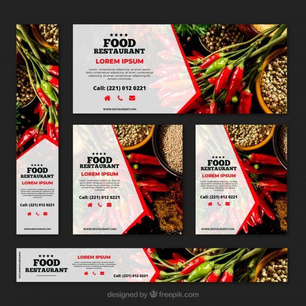 Creative Restaurant Advertisement Banner Banner Design