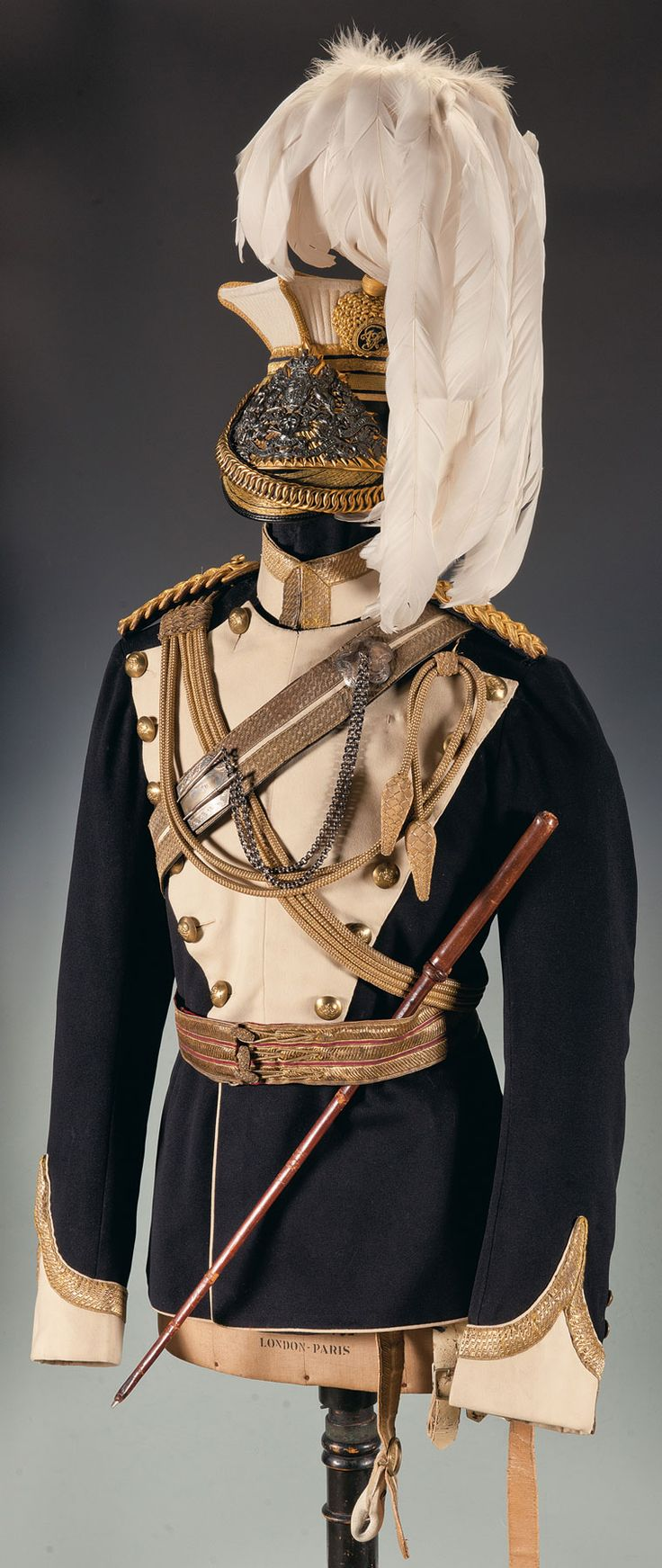 17th Lancers Officer's Lance Cap and Tunic